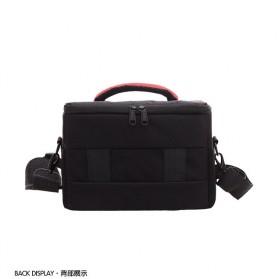 Soudelor Tas Selempang Kamera DSLR for Canon Nikon - 5002 - Black - 4