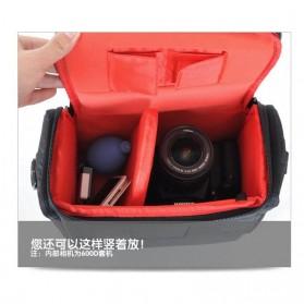 Soudelor Tas Selempang Kamera DSLR for Canon Nikon - SDL-EOS-S - Black - 3