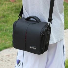Soudelor Tas Selempang Kamera DSLR for Canon Nikon - SDL-EOS-S - Black - 8