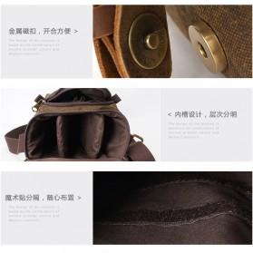 G-FAVOR Tas Selempang Kamera DSLR for Canon Nikon - YD3229 - Black - 4
