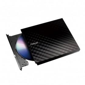 Asus 8X External Slim DVD+/-RW Drive Optical Drives - SDRW-08D2S-U (No Box) - Black