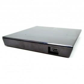 Asus 8X External Slim DVD ROM Drive Optical Drives - SDR-08B1 (No Box) - Black - 3