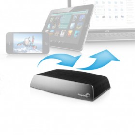 Seagate Central Shared Storage 3.5 inch USB 3.0 - 4TB - Black