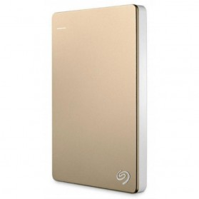 Seagate Backup Plus Slim Portable Drive 2.5 inch USB 3.0 - 2TB - Golden