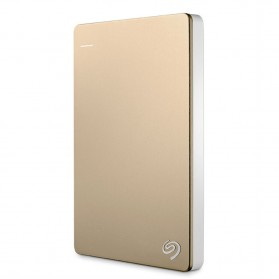 Seagate Backup Plus Slim Portable Drive 2.5 inch USB 3.0 - 1TB - Golden
