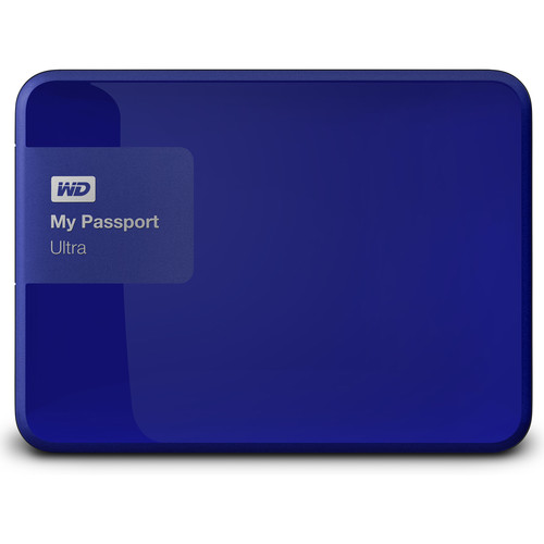 wd my passport ultra 2nd generation usb 3 0 1tb blue. Black Bedroom Furniture Sets. Home Design Ideas