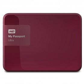 WD My Passport Ultra 2nd Generation USB 3.0 - 3TB - Red
