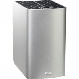 WD My Book Thunderbolt Duo High-Speed RAID Storage with Thunderbolt Cable - 4TB - Gray