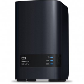 WD My Cloud EX2 Ultra Personal Cloud Storage - 8TB - Black