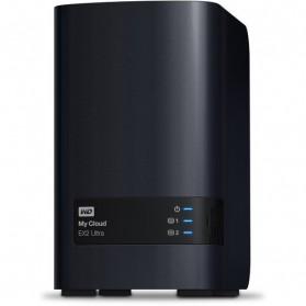 Storage Komputer PC / Laptop - WD My Cloud EX2 Ultra Personal Cloud Storage - 8TB - Black