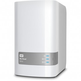 WD My Cloud Mirror Personal Cloud Storage 3.5 Inch - 8TB - White