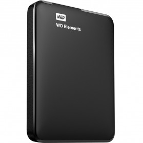 WD Elements Portable Hard Drives USB 3.0 - 1TB - Black