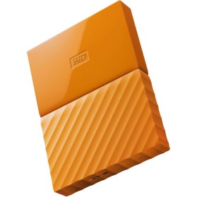 WD My Passport Colorful 3rd Generation USB 3.0 1TB - Orange