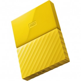 WD My Passport Colorful 3rd Generation USB 3.0 1TB - Yellow - 1