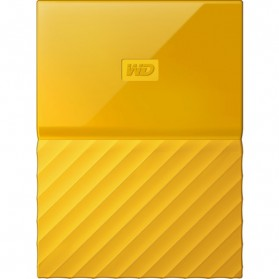 WD My Passport Colorful 3rd Generation USB 3.0 1TB - Yellow - 2