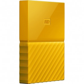 WD My Passport Colorful 3rd Generation USB 3.0 1TB - Yellow - 3