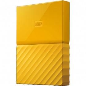 WD My Passport Colorful 3rd Generation USB 3.0 1TB - Yellow - 4