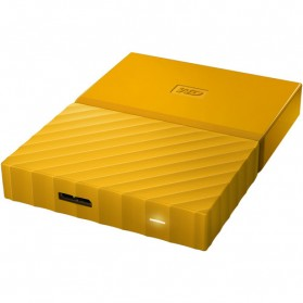 WD My Passport Colorful 3rd Generation USB 3.0 1TB - Yellow - 5