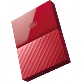 WD My Passport Colorful 3rd Generation USB 3.0 1TB - Red