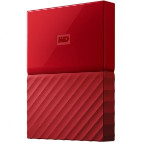 WD My Passport Colorful 3rd Generation USB 3.0 2TB - Red - 4