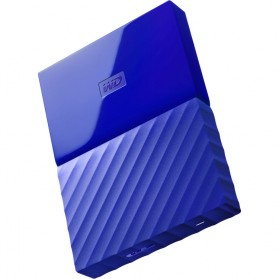 WD My Passport Colorful 3rd Generation USB 3.0 2TB - Blue - 1
