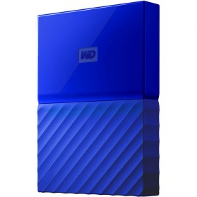 WD My Passport Colorful 3rd Generation USB 3.0 2TB - Blue - 4