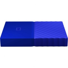 WD My Passport Colorful 3rd Generation USB 3.0 2TB - Blue - 6