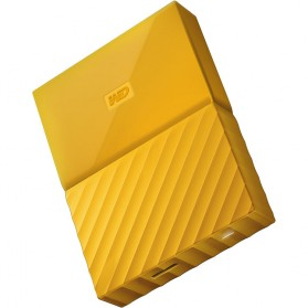WD My Passport Colorful 3rd Generation USB 3.0 4TB - Yellow