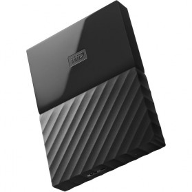 WD My Passport Colorful 3rd Generation USB 3.0 4TB - Black