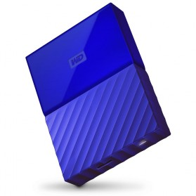 WD My Passport Colorful 3rd Generation USB 3.0 4TB - Blue