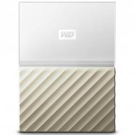 WD My Passport Ultra Metallic USB 3.0 1TB - White/Gold