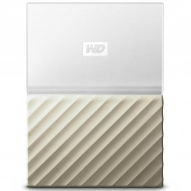 WD My Passport Ultra Metallic USB 3.0 4TB - White/Gold