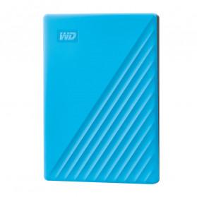 WD My Passport USB 3.2 2TB Harddisk Eksternal - Blue