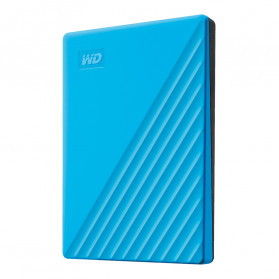 WD My Passport USB 3.2 1TB Harddisk Eksternal - Blue - 3