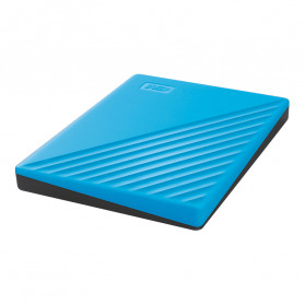 WD My Passport USB 3.2 1TB Harddisk Eksternal - Blue - 4