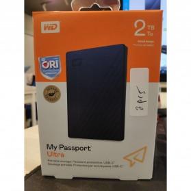 WD My Passport Ultra USB 3.0 2TB Harddisk Eksternal - Blue - 7