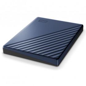 WD My Passport Ultra USB 3.0 4TB Harddisk Eksternal - Blue - 4