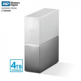WD My Cloud Home Storage 3.5 Inch - 4TB - White