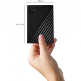 WD My Passport USB 3.2 5TB - Black - 6