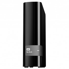 WD My Book USB 3.0 External Hard Drive 3.5 Inch - 4TB - Black - 1