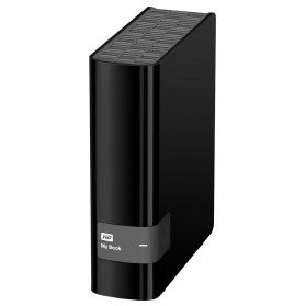 WD My Book USB 3.0 External Hard Drive 3.5 Inch - 4TB - Black - 2