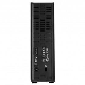 WD My Book USB 3.0 External Hard Drive 3.5 Inch - 4TB - Black - 3