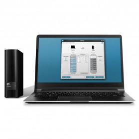 WD My Book USB 3.0 External Hard Drive 3.5 Inch - 4TB - Black - 5