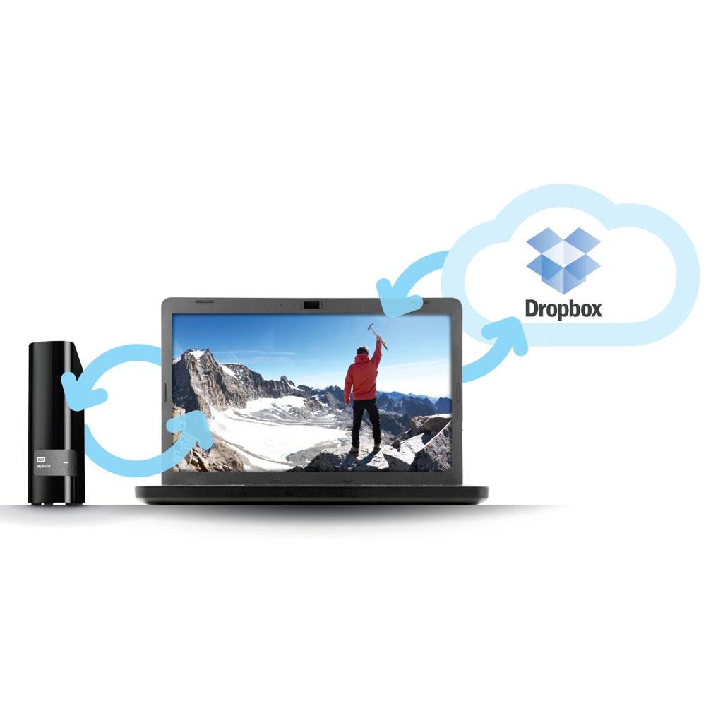WD My Book USB 3 0 External Hard Drive 3 5 Inch - 4TB - Black
