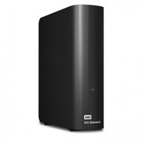 WD Elements Eksternal Desktop Hard Drive USB 3.0 - 2TB - Black