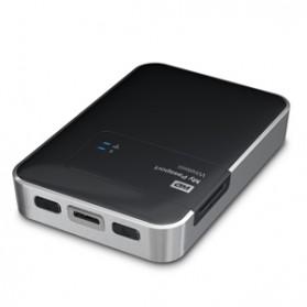 WD My Passport Wireless USB 3.0 External Hard Drive - 2TB - Black