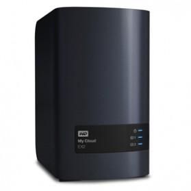 WD My Cloud EX2 Personal Cloud Storage - 4TB - Black