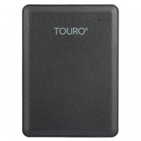 Storage Komputer PC / Laptop - HGST Touro HDD Eksternal 2.5 inch USB 3.0 2TB + Cloud Storage - Black