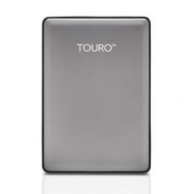 HGST Touro S High Performance Portable Drive 2.5 Inch USB 3.0 - 500GB - Gray
