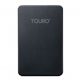 Storage Komputer PC / Laptop - HGST Touro Mobile Portable Storage 2.5 Inch USB 3.0 + Cloud Storage - 1TB - Black